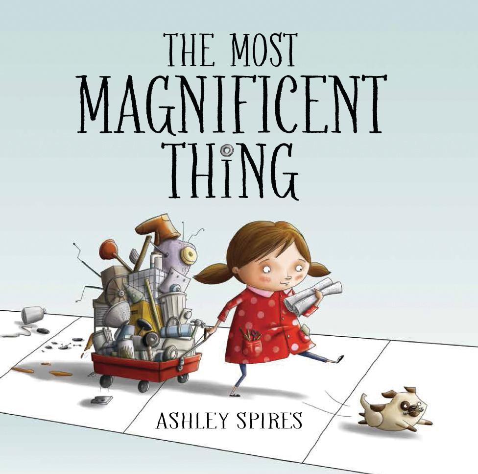 The Most Magnificent Thing book cover